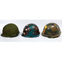 View 4: Vietnam War ARVN Ranger Painted Helmet Assortment