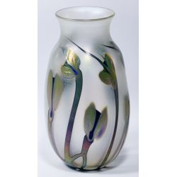 View 4: Charles Lotton Art Glass Vase