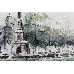 View 2: Alfredo Garcia Salazar (Mexican, b.1924) Oil on Canvas
