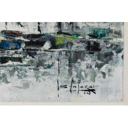 View 3: Alfredo Garcia Salazar (Mexican, b.1924) Oil on Canvas
