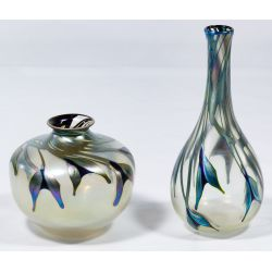 View 3: Charles Lotton Art Glass Vases