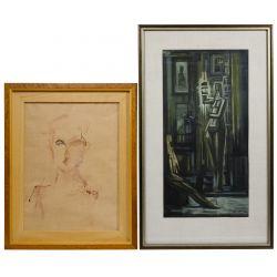 View 2: Abstract Artwork Assortment