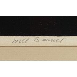 View 4: Will Barnett (American, 1918-1992) Lithograph