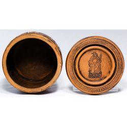 View 2: Chinese Clay Cricket Jar
