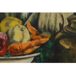 View 4: J.A. Jensen (20th Century) Oil on Canvas