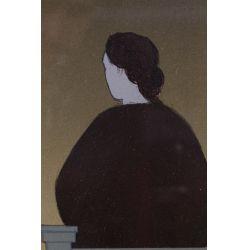 "View 2: Will Barnet (American, 1918-1992) ""Dawn"" Lithograph"