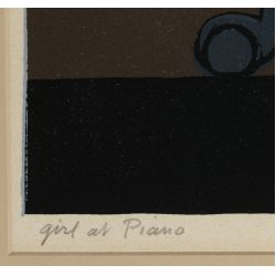 View 6: Will Barnett (American, 1918-1992) Lithograph