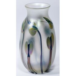 View 2: Charles Lotton Art Glass Vase