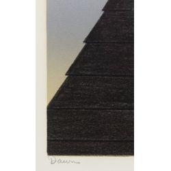 "View 5: Will Barnet (American, 1918-1992) ""Dawn"" Lithograph"