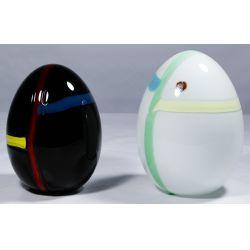 View 2: Murano Art Glass Eggs by Lino Tagliapietra for Oggetti