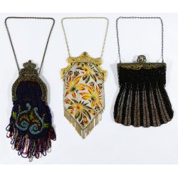 View 2: Enamel Mesh and Beaded Purse Assortment