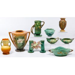 View 2: Roseville Pottery Assortment