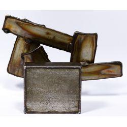 View 4: George Kafka (American, 20th Century) Modern Metal Sculpture