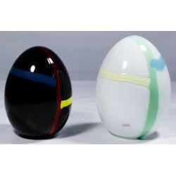 View 3: Murano Art Glass Eggs by Lino Tagliapietra for Oggetti