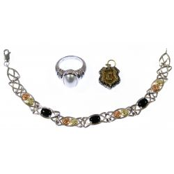 View 2: Designer Gold and Sterling Silver Jewelry Assortment
