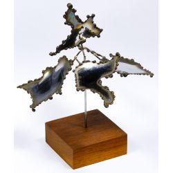 View 2: George Kafka (American, 20th Century) Metal Mobile Sculpture
