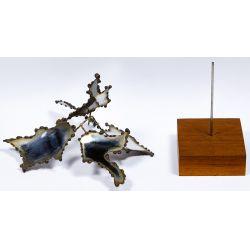 View 3: George Kafka (American, 20th Century) Metal Mobile Sculpture