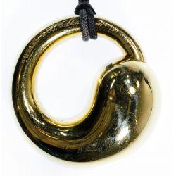 """View 2: Tiffany & Co. 18k Gold """"Eternal Circle"""" Pendant"""