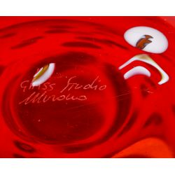 View 5: Murano Art Glass Handkerchief Vase