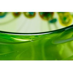 View 6: Murano Millefiori Art Glass Bowl