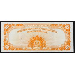 View 2: 1922 $10 Gold Certificate XF Details