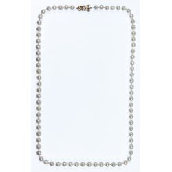 View 2: Mikimoto 14k Gold and 7mm Pearl Necklace
