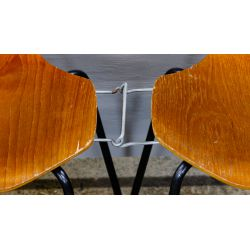 View 3: MCM Bent Wood Chairs by Arne Jacobsen for Fritz Hansen
