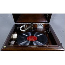 View 3: Victrola Floor Model #VV-XI Phonograph