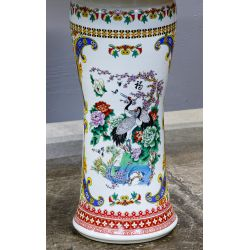 View 3: Asian Style Ceramic Garden Table and Stools