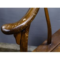 View 3: Asian Carved Wood Horseshoe Chairs