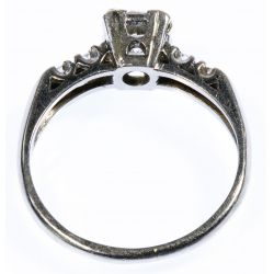 View 3: Platinum and Diamond Ring
