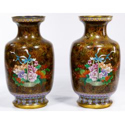 View 3: Asian Cloisonne Vases