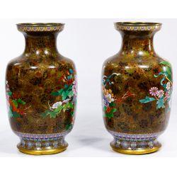 View 4: Asian Cloisonne Vases