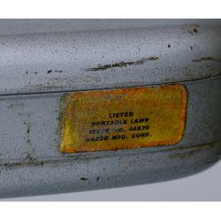 View 3: MCM Gray Industrial Floor Lamp by Dazor Mfg