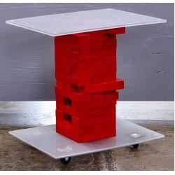 View 2: Modern Jenga Table