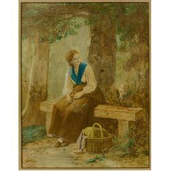 View 3: (After) Johann George Meyer von Bremen (German, 1813-1886) Enhanced Print