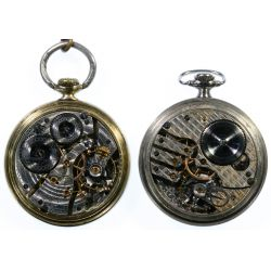 View 3: Open Face Railroad Pocket Watches