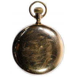 """View 2: Waltham """"940"""" Gold Filled Railroad Pocket Watch"""