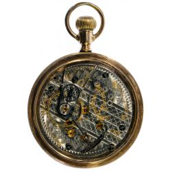 """View 3: Waltham """"940"""" Gold Filled Railroad Pocket Watch"""