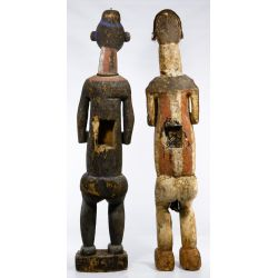 View 2: African Carved Wood Figures