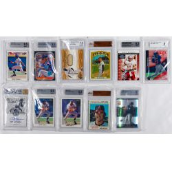 View 2: Beckett Graded Sports Card Assortment