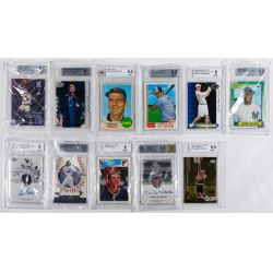 View 3: Beckett Graded Sports Card Assortment