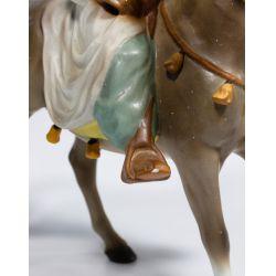 """View 3: Hagen-Renaker """"Bedouin on Horse"""" Figurine"""