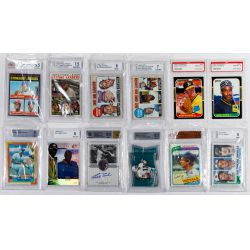 View 5: Beckett Graded Sports Card Assortment