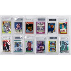 View 4: Beckett Graded Sports Card Assortment