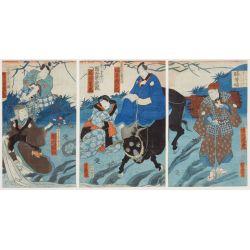 View 2: Asian Woodblock Print Assortment