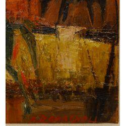 """View 4: Alfredo Romagnoli (Italian, b.1915) """"Don Quixote"""" Oil on Canvas"""