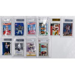 View 6: Beckett Graded Sports Card Assortment
