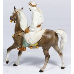 """View 2: Hagen-Renaker """"Bedouin on Horse"""" Figurine"""