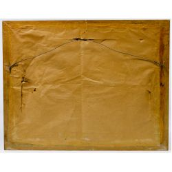 """View 4: Matthew F. Kousal (Canadian, 1902-1990) """"Winter"""" Oil on Canvas Board"""
